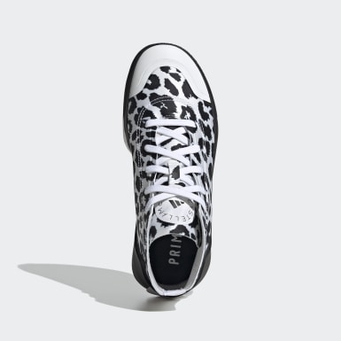 Women adidas by Stella McCartney White adidas by Stella McCartney Treino Mid-Cut Print Shoes