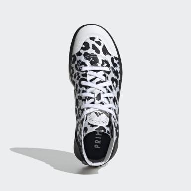 Kvinder adidas by Stella McCartney Hvid adidas by Stella McCartney Treino Mid-Cut Print sko