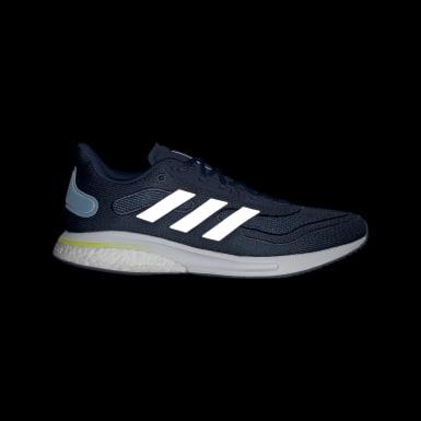 Men Running Blue Supernova Shoes