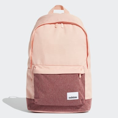 Training Pink Linear Classic Casual Backpack