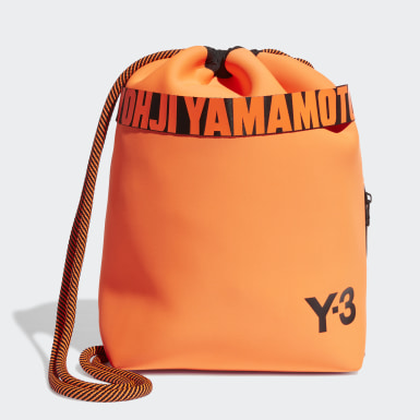 Y-3 Orange Y-3 Drawstring Backpack