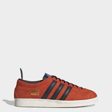 Originals Gazelle Vintage Schuh Orange