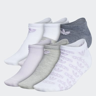 Graphic No-Show Socks 6 Pairs