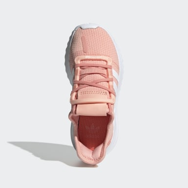 Scarpe U_Path Run Rosa Bambini Originals