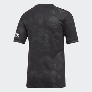 Camiseta tercera equipación Manchester United Negro Niño Fútbol