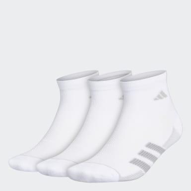 Chaussettes Superlite Stripe 2 Quarter (3 paires). blanc Hommes Entraînement