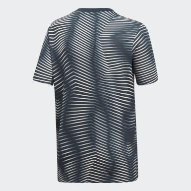 серый Домашняя предматчевая футболка Реал Мадрид