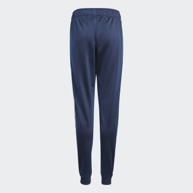 Kids Originals Blue Adicolor SST Tracksuit Bottoms