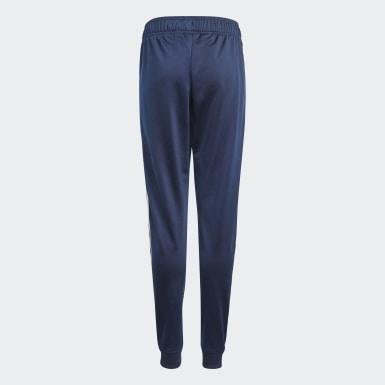 Pantalon de survêtement Adicolor SST Bleu Enfants Originals