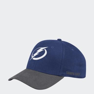 Men's Hockey Multicolor Lightning Coach Structured Flex Hat