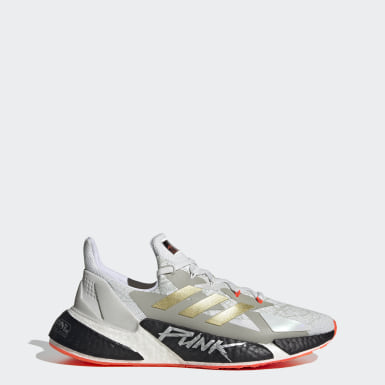 Men Running White X9000L4 Cyberpunk 2077 Shoes