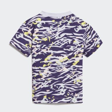 Camiseta Violeta Niña Originals
