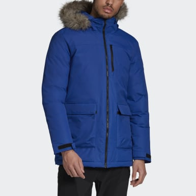 Parka Xploric Blu Uomo City Outdoor