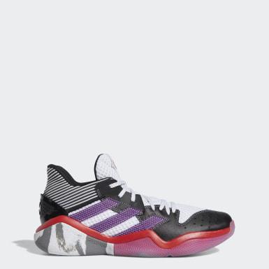 Basketball Harden Step-Back Schuh Weiß