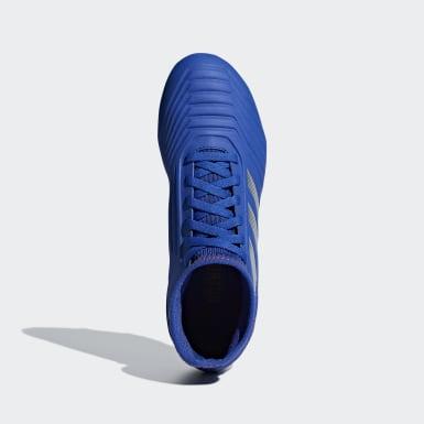 Kids Football Blue Predator 19.3 Firm Ground Boots