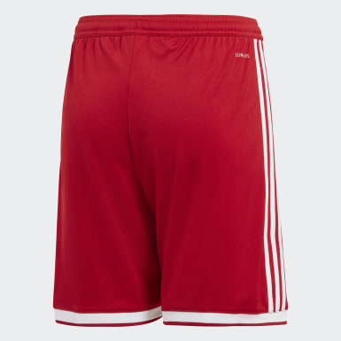 Youth Soccer Red Regista 18 Shorts