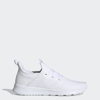 Women's Essentials White Cloudfoam Pure Shoes