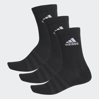 Tenis černá Ponožky Cushioned Crew – 3 páry