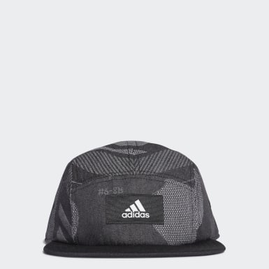 5-Panel Graphic Cap Czerń
