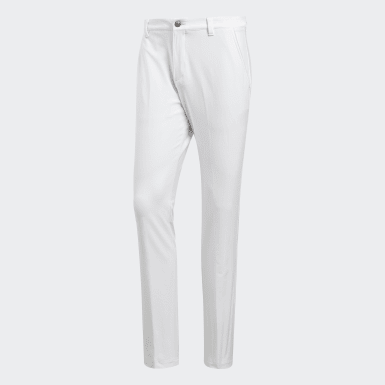 Ultimate Stretch Twill White Trousers