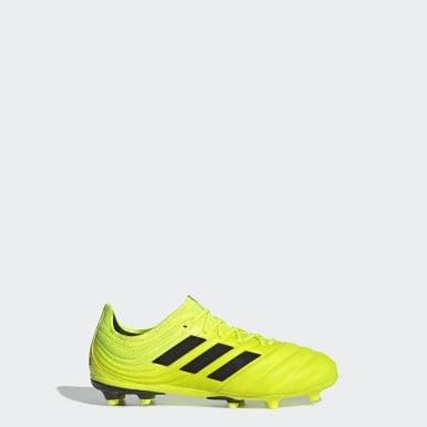 желтый Футбольные бутсы Copa 19.1 FG