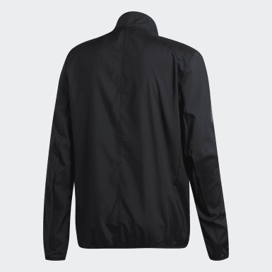 Men Running Black Own the Run Jacket
