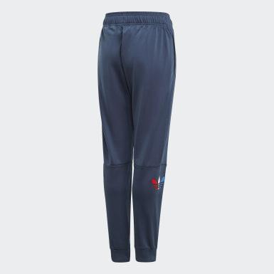 Børn Originals Blå Adicolor træningsbukser
