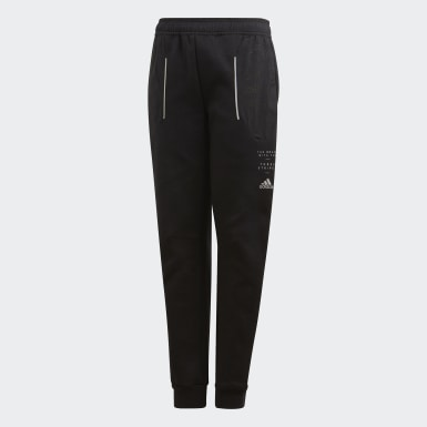 Youth Training Black Spacer Pants