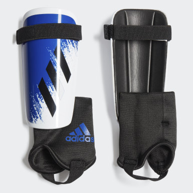 Youth Soccer White X 20 Match Shin Guards