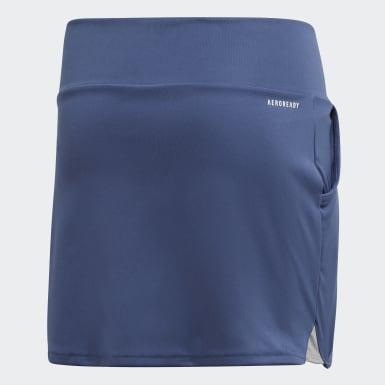 Falda Club Azul Niña Tennis