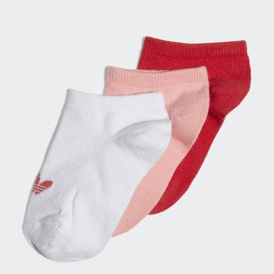 Calcetines tobilleros 3 Pares (UNISEX) Blanco Niño Originals