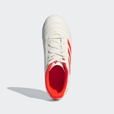 Children Football Beige Copa 19.4 Turf Boots