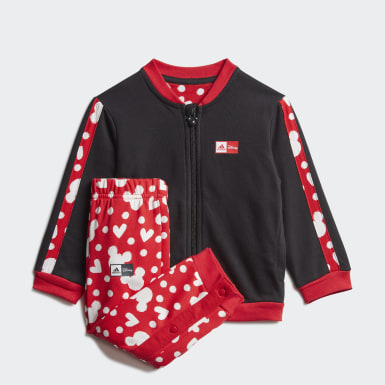 Conjunto Minnie Mouse Jogger Negro Niña Training