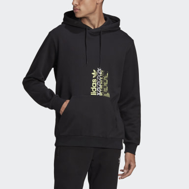 Men's Originals Black ZX Print Hoodie