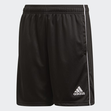 Kinder Training Core 18 Trainingsshorts Schwarz