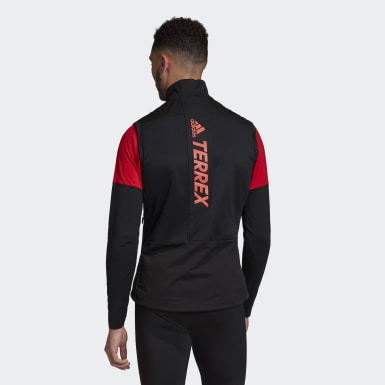 Men TERREX Black Terrex Agravic XC Soft Shell Vest