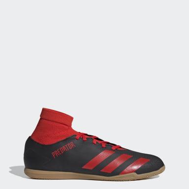 Men's Soccer Black Predator 20.4 Indoor Shoes