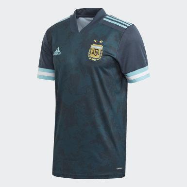 Jersey Visitante Argentina Azul Niño Fútbol