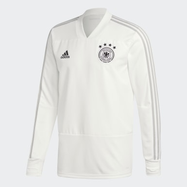 Haut d'entraînement Allemagne Blanc Hommes Football