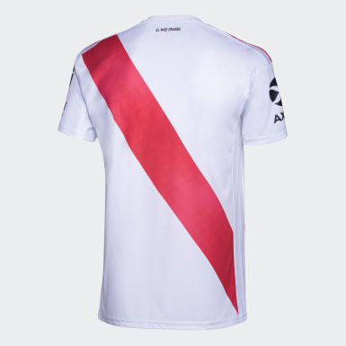 Camiseta Titular River Plate Blanco Hombre Fútbol