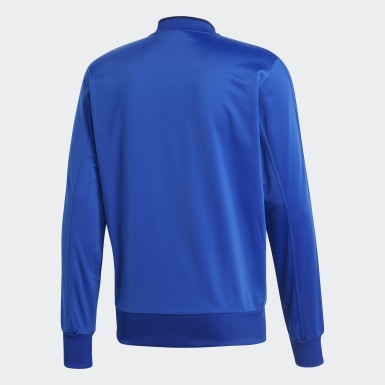 Mænd Træning Blå Condivo 18 jakke