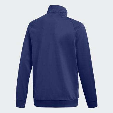 Kinder Training Core 18 Jacke Blau