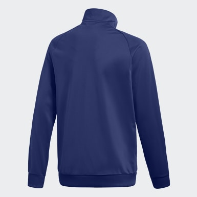 Youth 8-16 Years Training Blue Core 18 Track Top