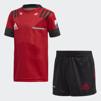Kids Rugby Red Crusaders Home Mini Kit