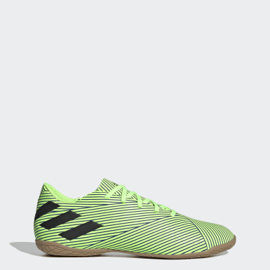 Men Soccer Green Nemeziz 19.4 Indoor Shoes