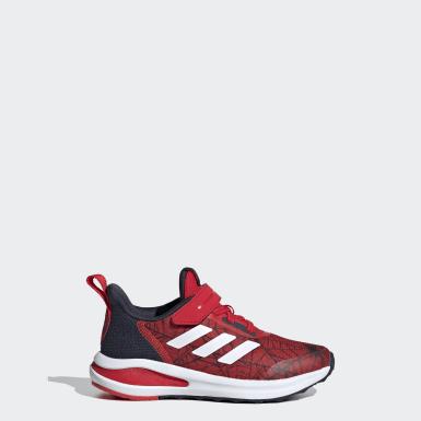 Çocuklar Koşu Kırmızı Marvel Spider-Man FortaRun Ayakkabı