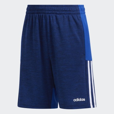 Children Training Mélange Mesh Shorts