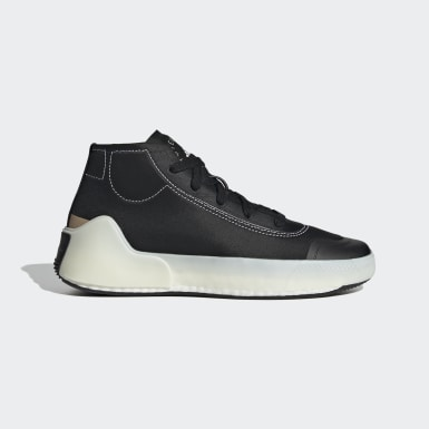 Women adidas by Stella McCartney Black adidas by Stella McCartney Treino Mid-Cut Shoes
