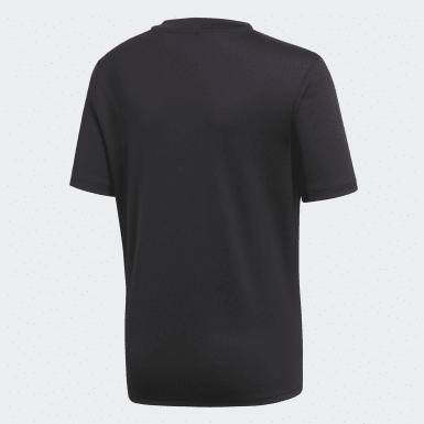 Camiseta entrenamiento Core 18 Negro Niño Training