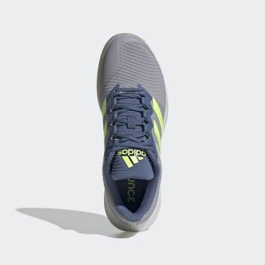 Netbal grijs ForceBounce Handbalschoenen
